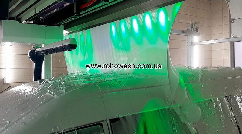 Автоматическая бесконтактная мойка робот Robowash на автомойке Rolen Detailing, пгт Александровка, Черноморск